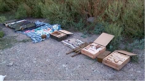 В Донецкой области нашли тайник с 11 гранатометами и наркотиками (ФОТО) (фото) - фото 1