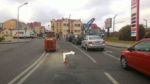 Фотофакт: возле автовокзала меняют организацию движения (фото) - фото 2