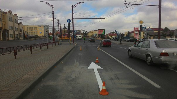 Фотофакт: возле автовокзала меняют организацию движения (фото) - фото 1