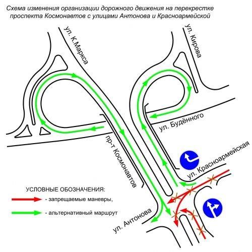 Фотофакт: возле автовокзала меняют организацию движения (фото) - фото 3