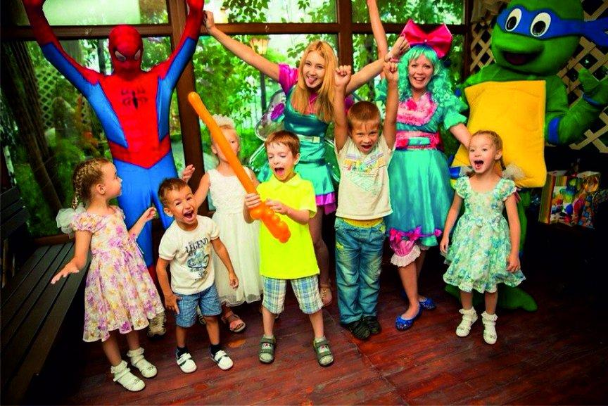 Детские праздники в Пицее Блюз