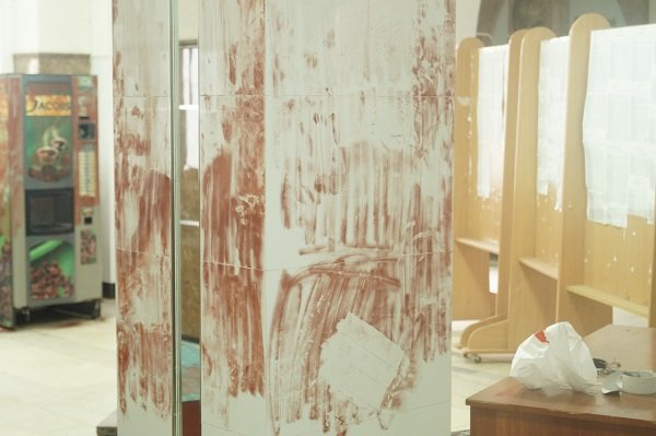 Ограбление в Таврической академии КФУ: неизвестные взломали три банкомата и скрылись с деньгами (ФОТО) (фото) - фото 3