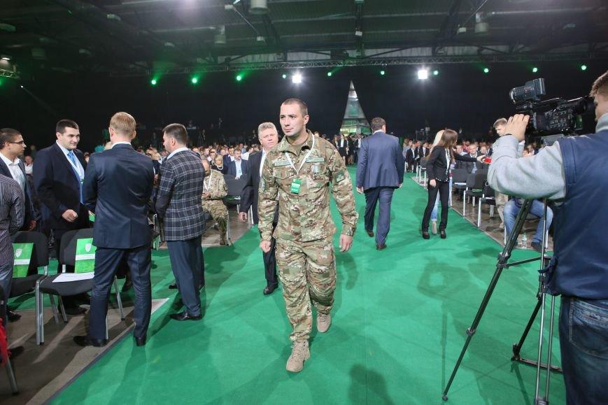Выступление Евгения Терехова было самым трогательным на съезде