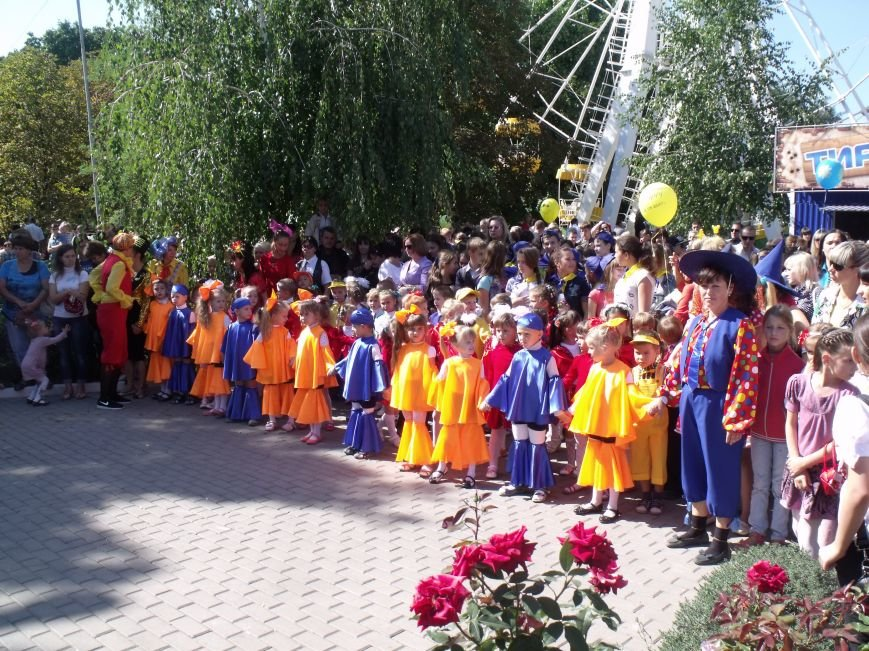 Артемовские детишки получили подарки в День города (фото) - фото 1
