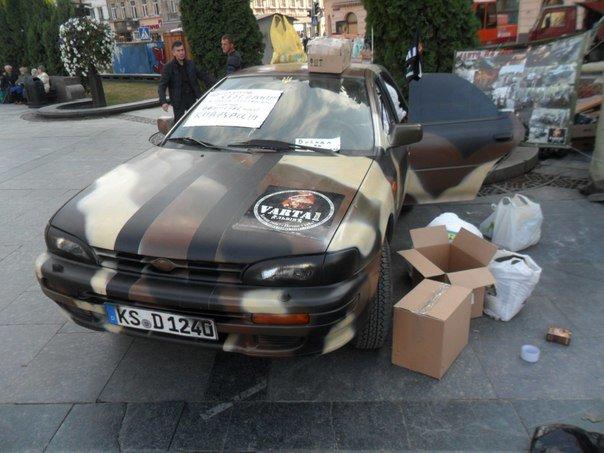 Зі світу по нитці: Українці, які проживають у Бостоні, подарували бійцям автомобіль (ФОТО+ВІДЕО) (фото) - фото 1