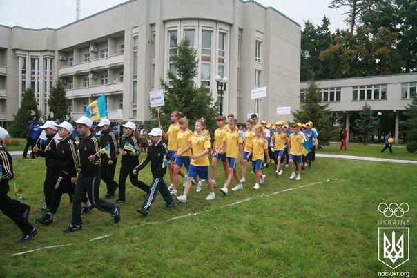 Спортсмены Красноармейского учебно-воспитательного комплекса в финале Всеукраинского проекта «Ты - Лидер» (фото) - фото 3
