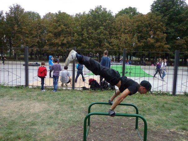 Новая воркаут-площадка в Артемовске (фото) - фото 1