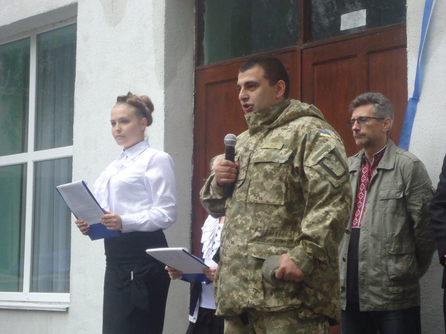 Герои не умирают: в Димитрове увековечили память воина АТО мемориальной доской (фото) - фото 3