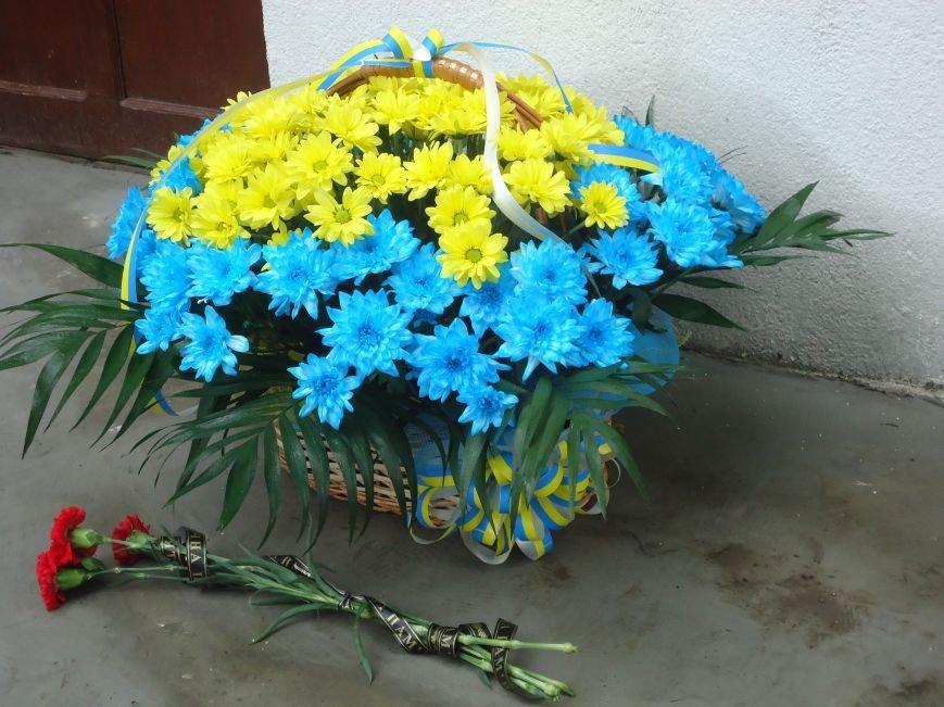 Герои не умирают: в Димитрове увековечили память воина АТО мемориальной доской (фото) - фото 6