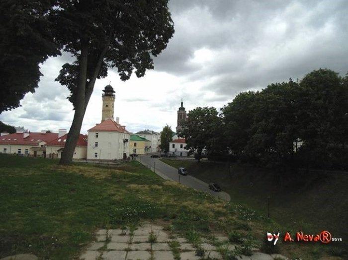 Белорусский архитектор показал, как выглядела бы в центре Гродно Фара Витовта (фото) - фото 3