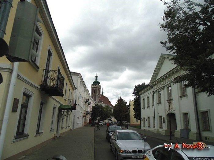 Белорусский архитектор показал, как выглядела бы в центре Гродно Фара Витовта (фото) - фото 1