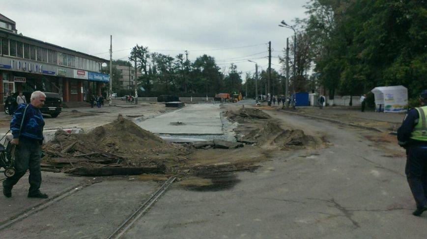 ДТП в Днепропетровске: «ДАФ» насмерть сбил женщину (ФОТО) (фото) - фото 1