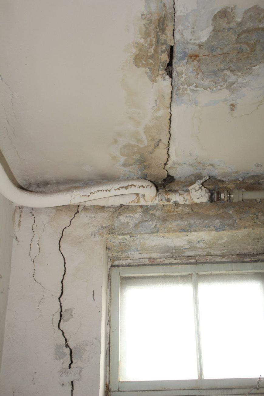 В Днепродзержинске жильцы дома с трещиной по-прежнему ожидают ремонта, фото-6