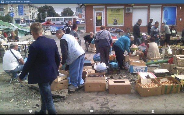 Центральный рынок Симферополя сегодня: стихийщики, горы мусора и ночлежка для бомжей на месте снесенной «стекляшки» (ФОТОФАКТ) (фото) - фото 2