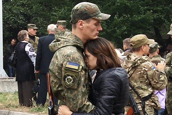 Батальйон «Івано-Франківськ» знову вирушив на схід України (ФОТО) (фото) - фото 1