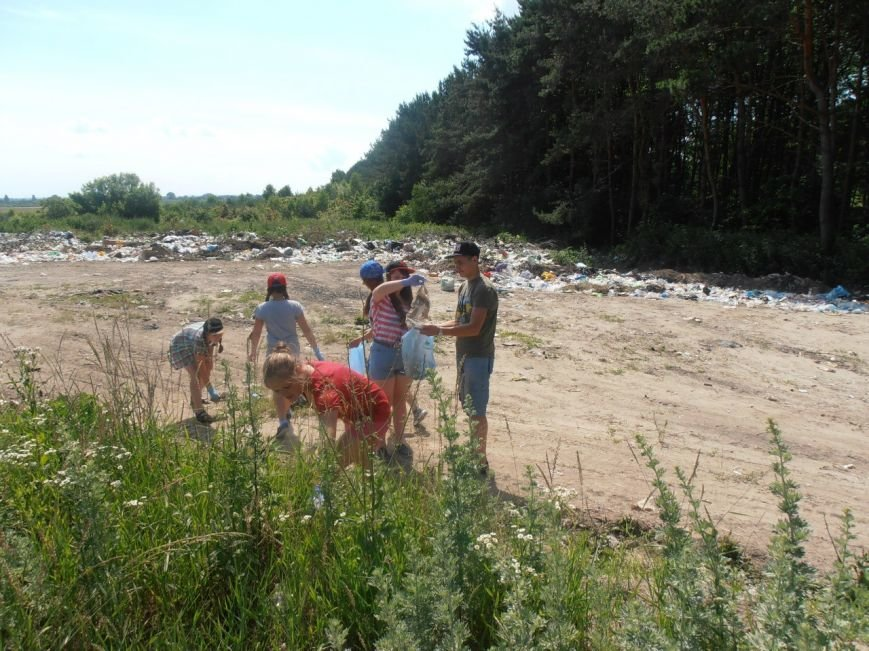 Екологічний десант туристів (фото) - фото 1