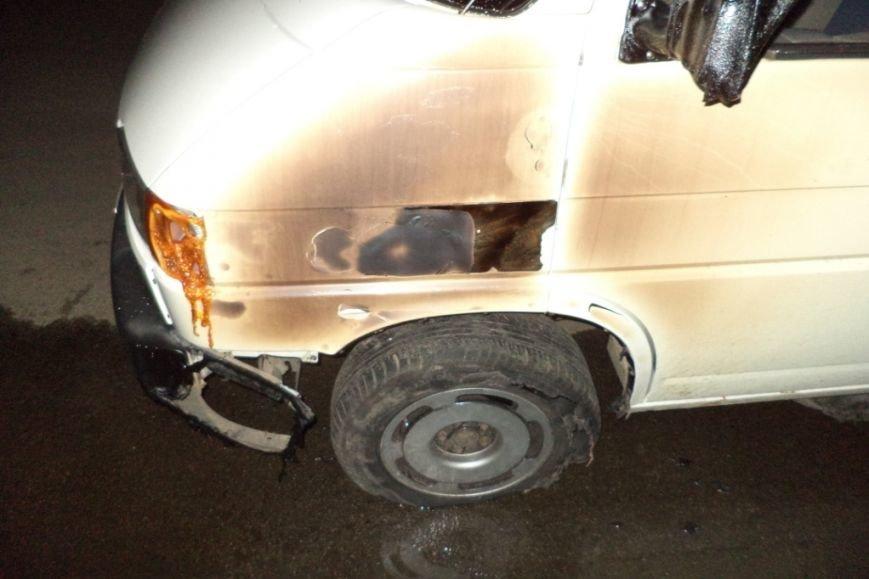 В Чернигове горел автомобиль (фото) - фото 1