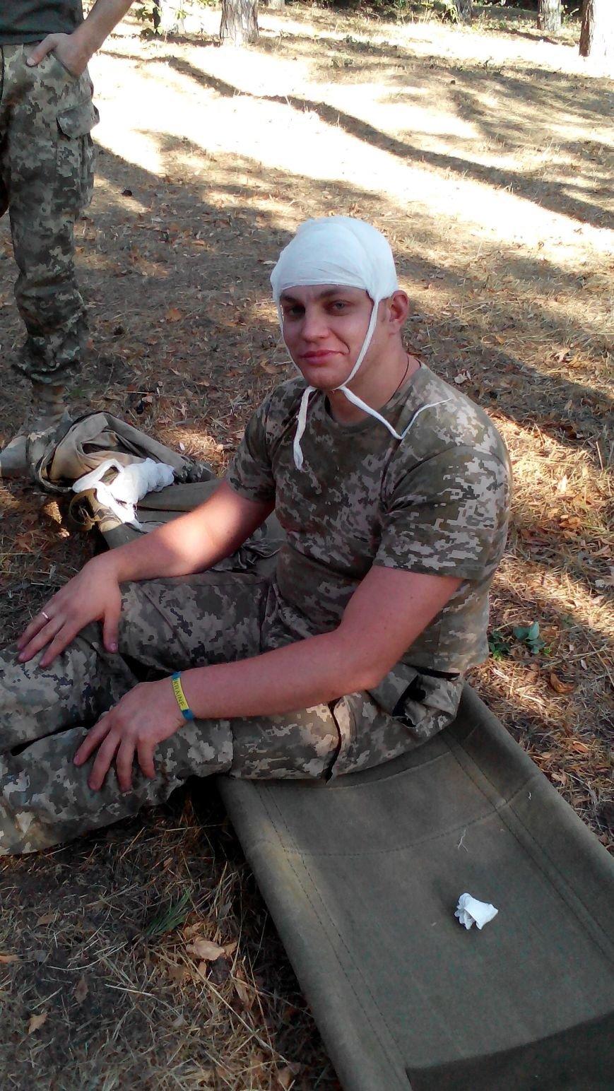 Патриоты Доброполья смогут оказать достойную медицинскую помощь на поле боя, фото-2