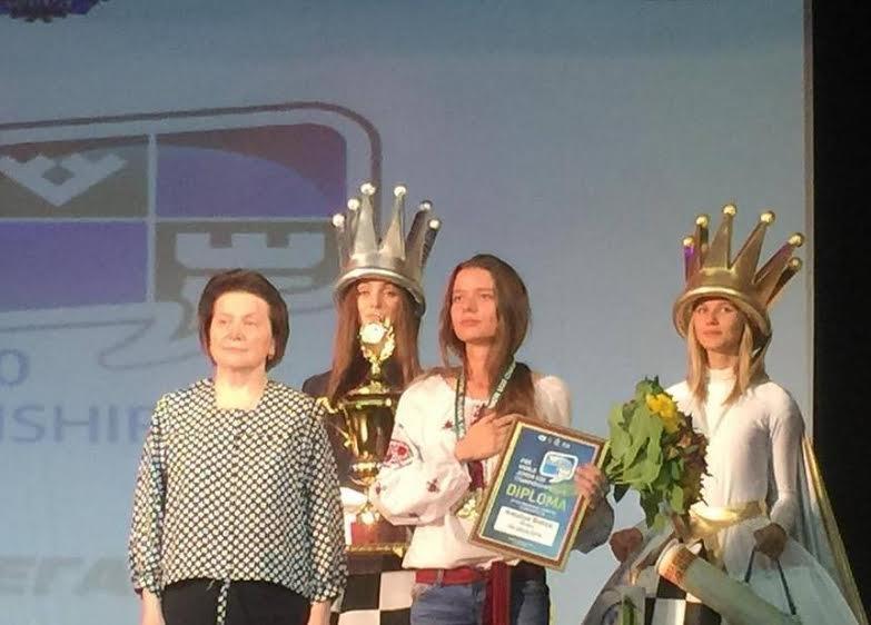 Львів'янка стала  чемпіонкою світу серед шахісток віком до 20 років (ФОТО) (фото) - фото 1
