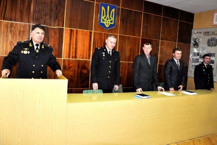 У начальника Управления госслужбы Украины по ЧС в Сумской области 4 заместителя (ФОТО) (фото) - фото 1