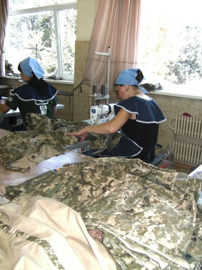 Днепродзержинские осужденные шьют для военнослужащих из зоны АТО (фото) - фото 2