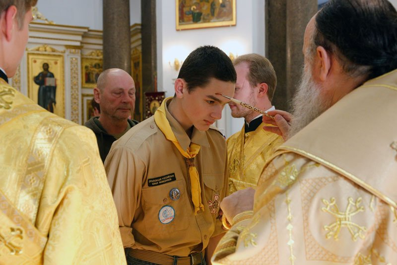 Митрополит Варсонофий провел общественное богослужение в Софийском соборе (фото) - фото 2
