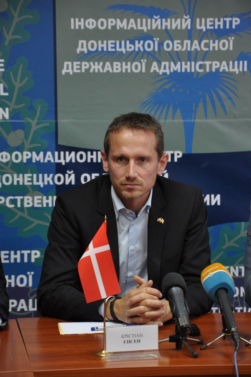 Краматорск посетил министр иностранных дел Дании, фото-1