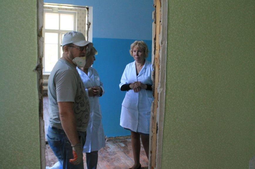 В Часовоярской амбулатории начался капитальный ремонт, фото-3