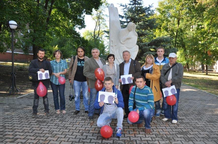 В Краматорске почтили память погибших журналистов, фото-5