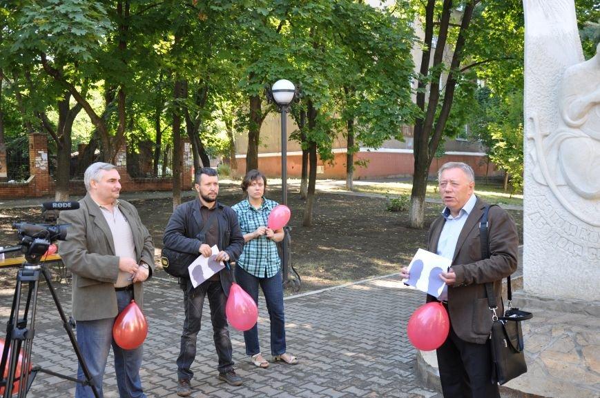 В Краматорске почтили память погибших журналистов, фото-3