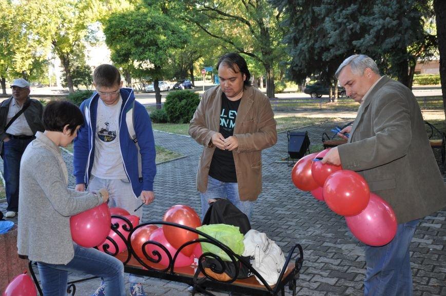 В Краматорске почтили память погибших журналистов, фото-1
