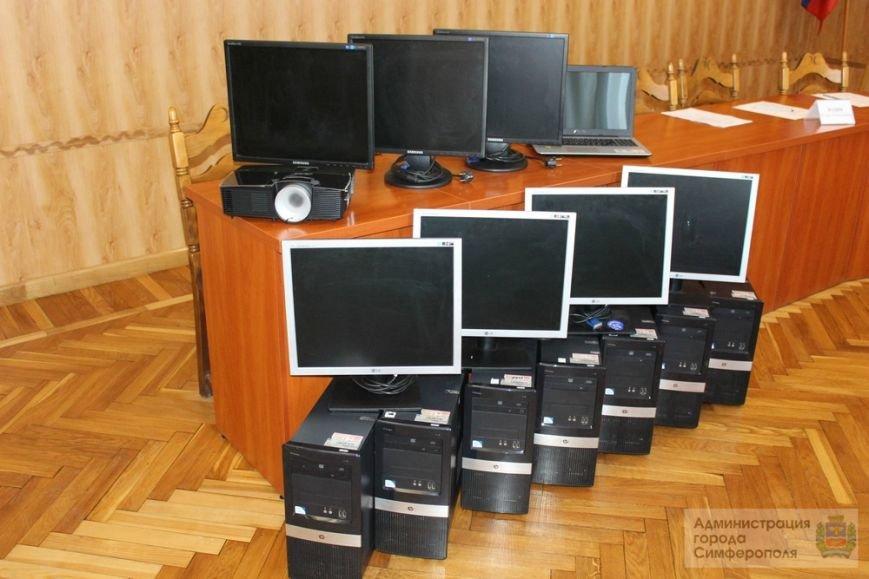 Симферополь получил в подарок от Санкт-Петербурга компьютеры, принтеры и православную литературу (ФОТО) (фото) - фото 2