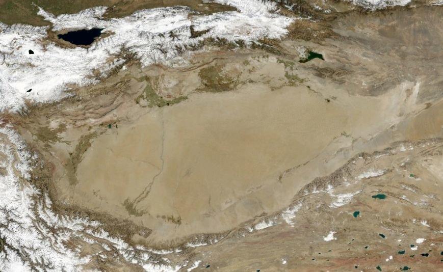 Что под Херсонщиной, Алешковскими песками и Чёрным морем? Открытие в Таримской впадине может заставить учёных пересмотреть своё мнение (фото) - фото 1