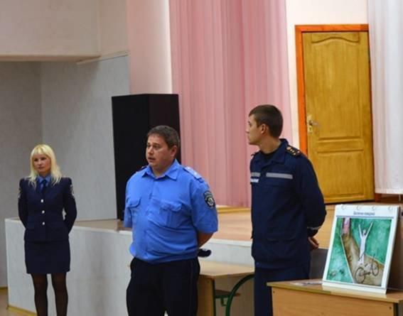 Красноармейские правоохранители продолжают уроки безопасного поведения для школьников города (фото) - фото 5