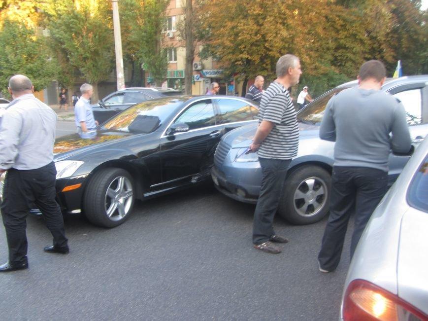 ДТП на Гагарина: столкнулись две иномарки (ФОТО), фото-1