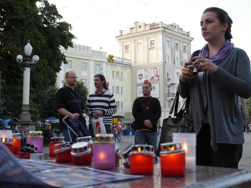 У Тернополі журналісти вшанували пам'ять Георгія Гонгадзе (ФОТОРЕПОРТАЖ) (фото) - фото 1