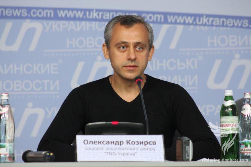 Социолог компании TNS Александр Козырев