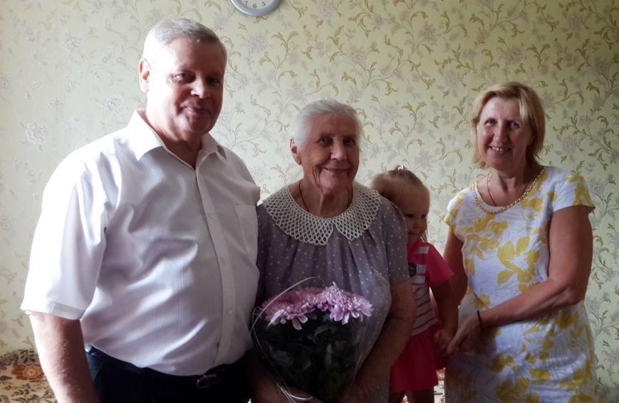 90 лет Лопатиной и Лейбе (1)