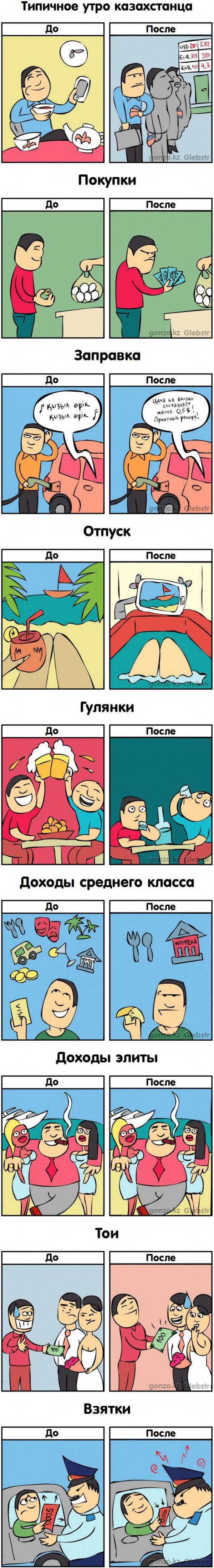 Жизнь в Казахстане до и после изменений курса (фото) - фото 1