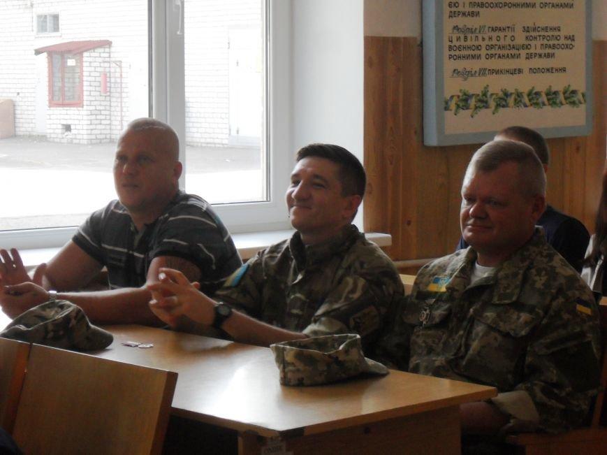 В Кременчуге 11 бойцов наградили нагрудными знаками «Участник АТО» от имени Петра Порошенко (ФОТО) (фото) - фото 3