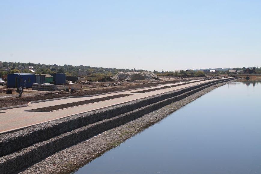 Правый берег Бахмутки уже готов, фото-1