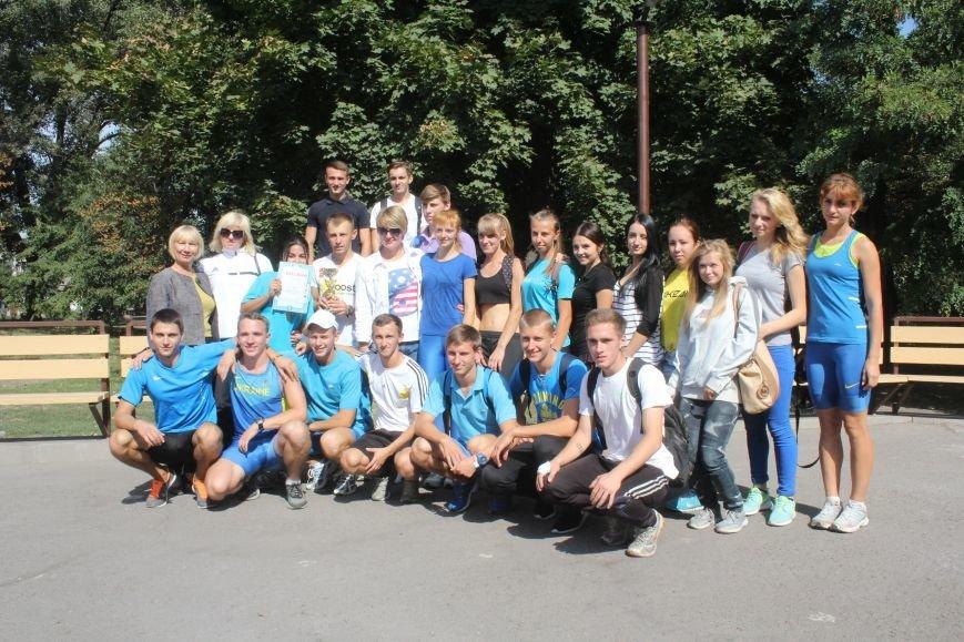 В Днепродзержинске ко Дню города состоялась легкоатлетическая эстафета, фото-11