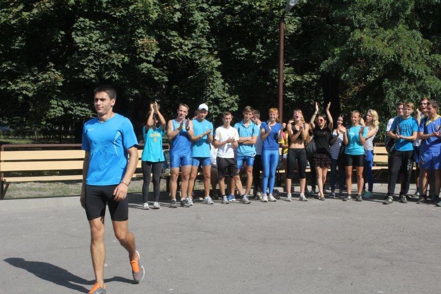 В Днепродзержинске ко Дню города состоялась легкоатлетическая эстафета (фото) - фото 10