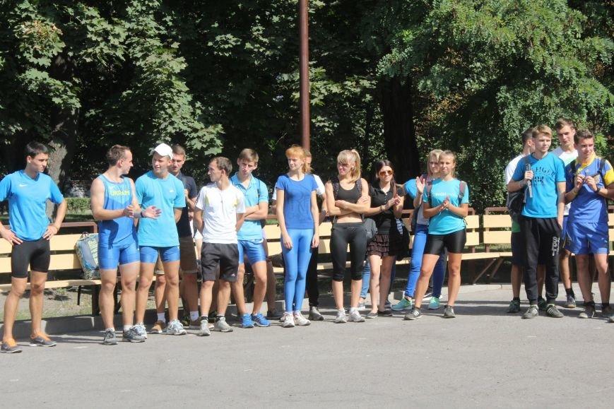 В Днепродзержинске ко Дню города состоялась легкоатлетическая эстафета (фото) - фото 12
