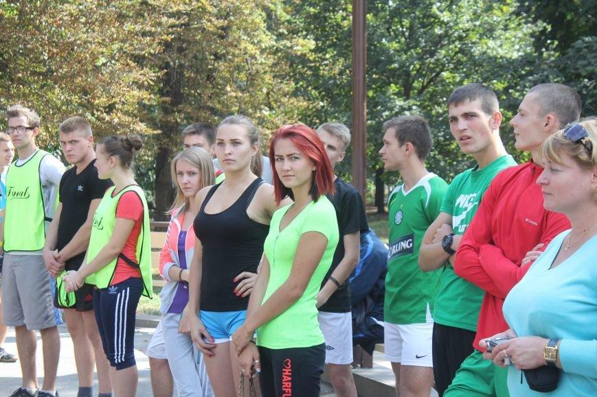 В Днепродзержинске ко Дню города состоялась легкоатлетическая эстафета (фото) - фото 8