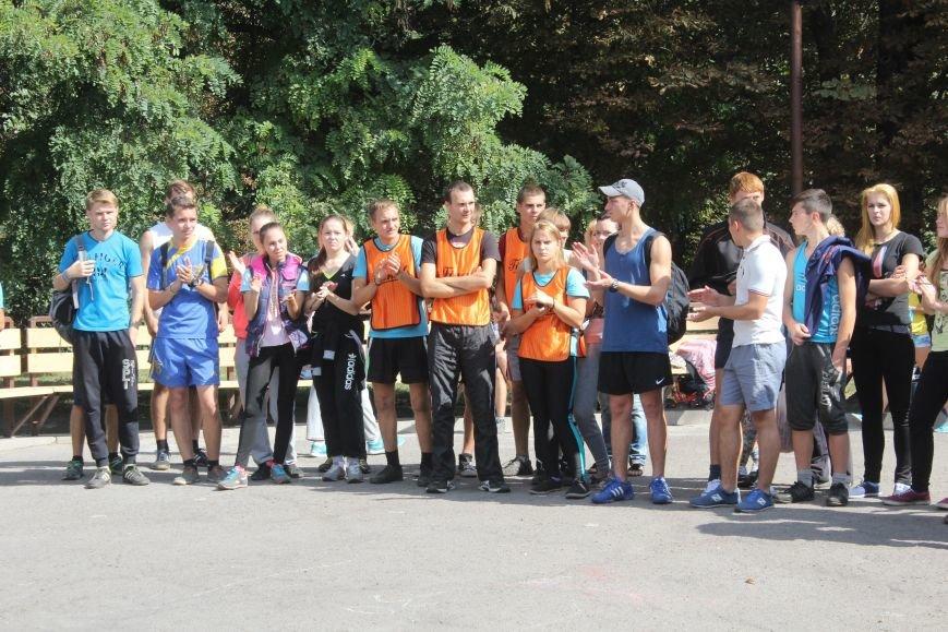 В Днепродзержинске ко Дню города состоялась легкоатлетическая эстафета, фото-4