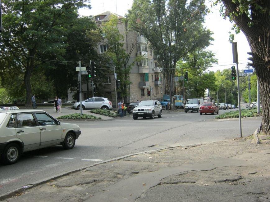 ДТП в Днепропетровске: на регулируемом перекрестке столкнулись две иномарки (ФОТО), фото-5