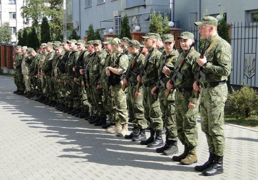 Міліціонерів підрозділу особливого призначення проводжали в АТО (Фото, відео) (фото) - фото 1