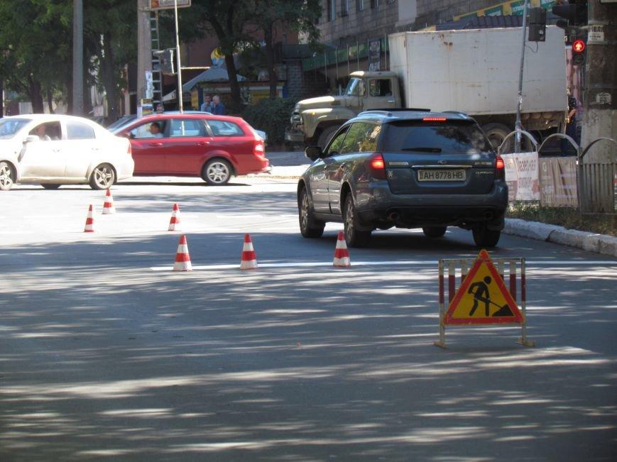 В Мариуполе ко Дню города обновили разметку улиц (ФОТОФАКТ), фото-1