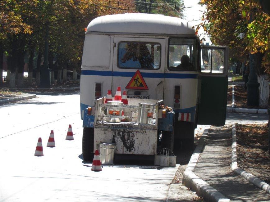 В Мариуполе ко Дню города обновили разметку улиц (ФОТОФАКТ), фото-4